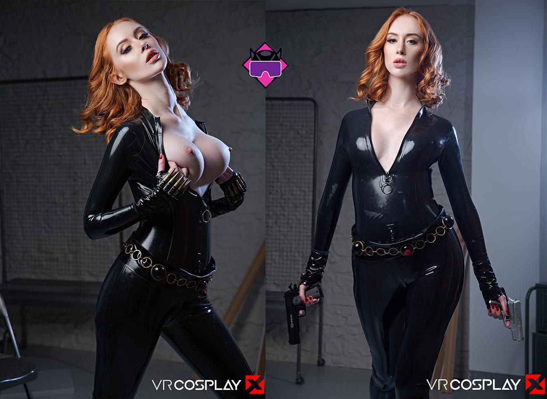 Lenina Crowne As The Black Widow – VR Cosplay