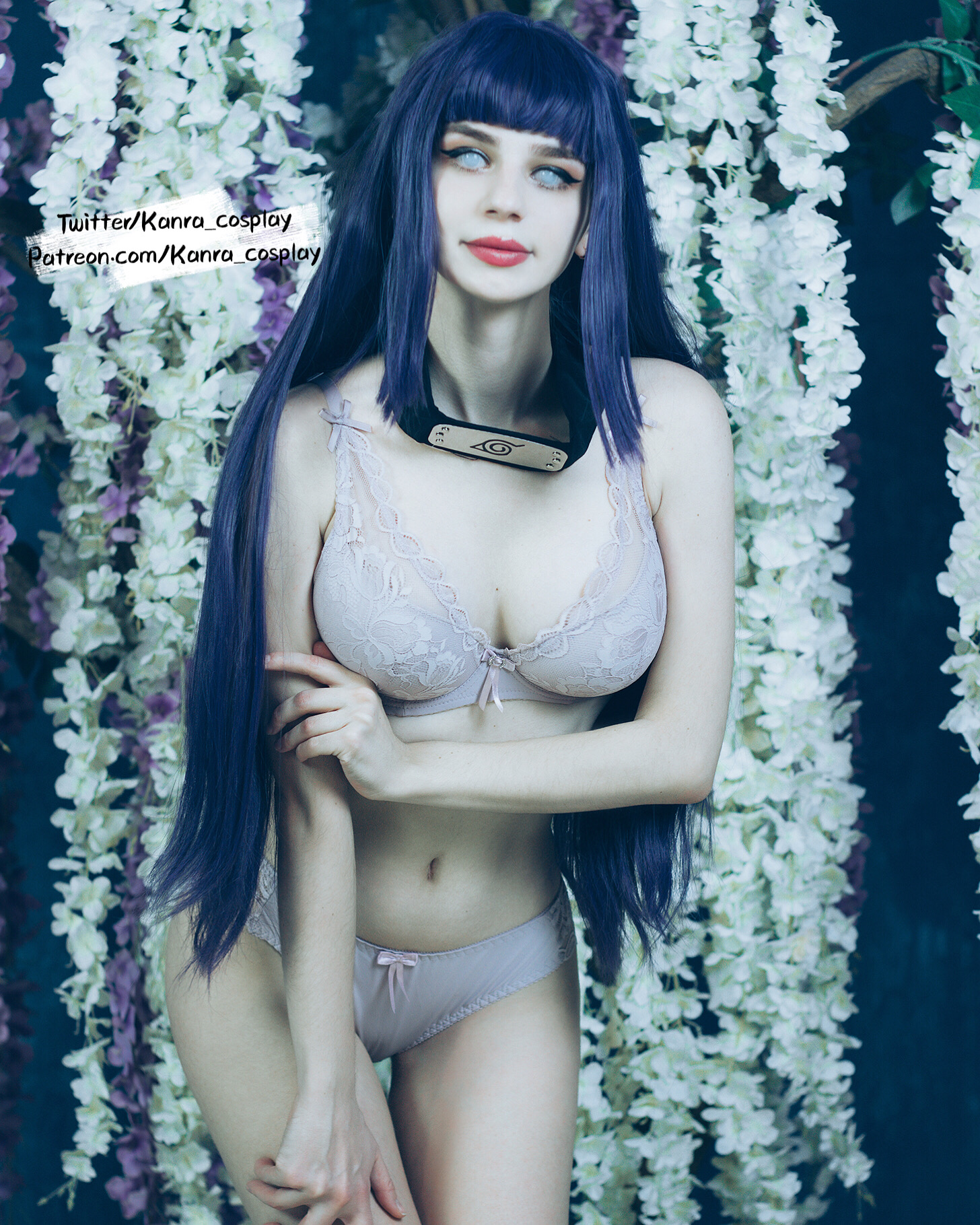 Hinata Is Very Famous For Her…. Pure Soul By Kanra_cosplay
