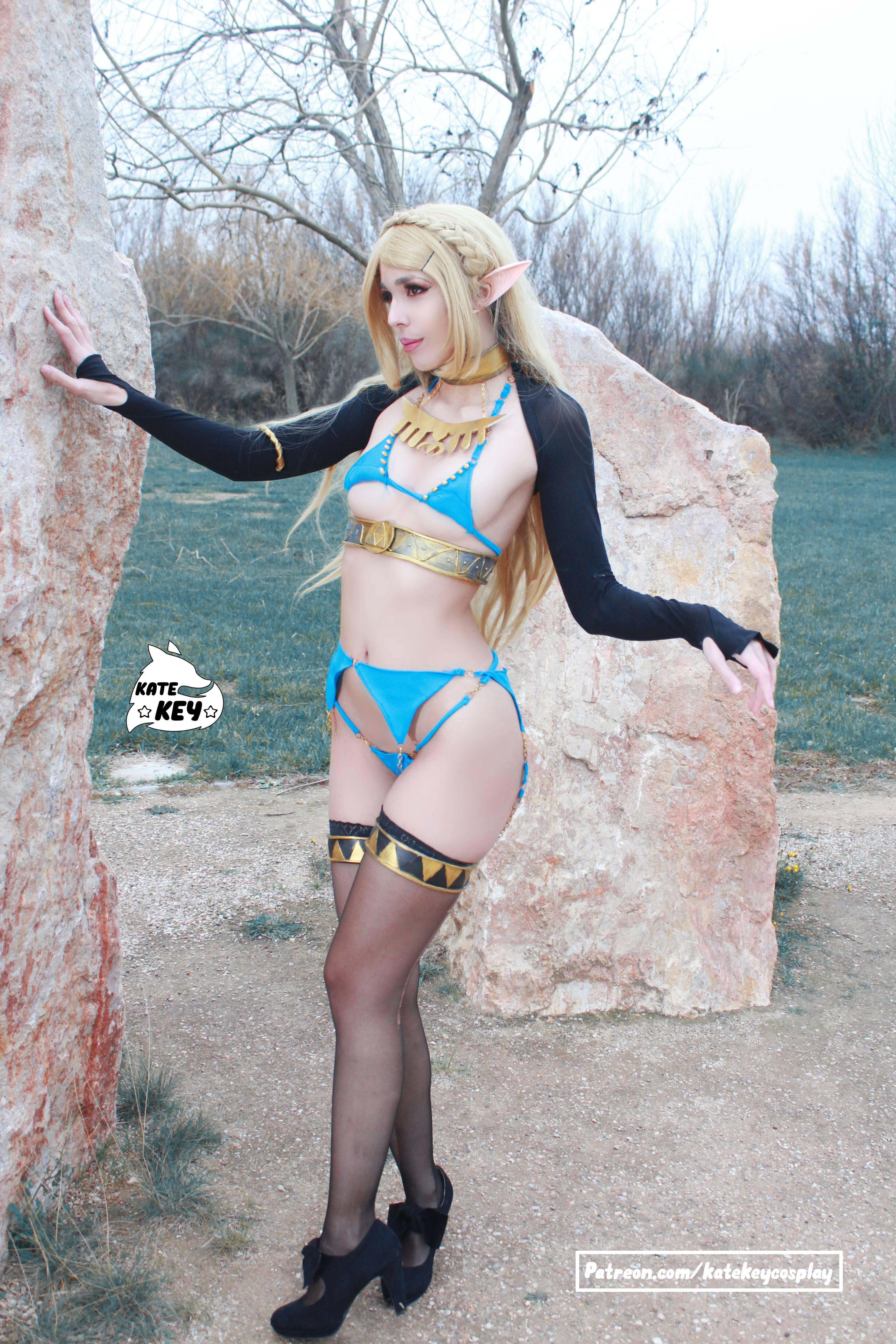 Princess Zelda Erocosplay By Kate Key