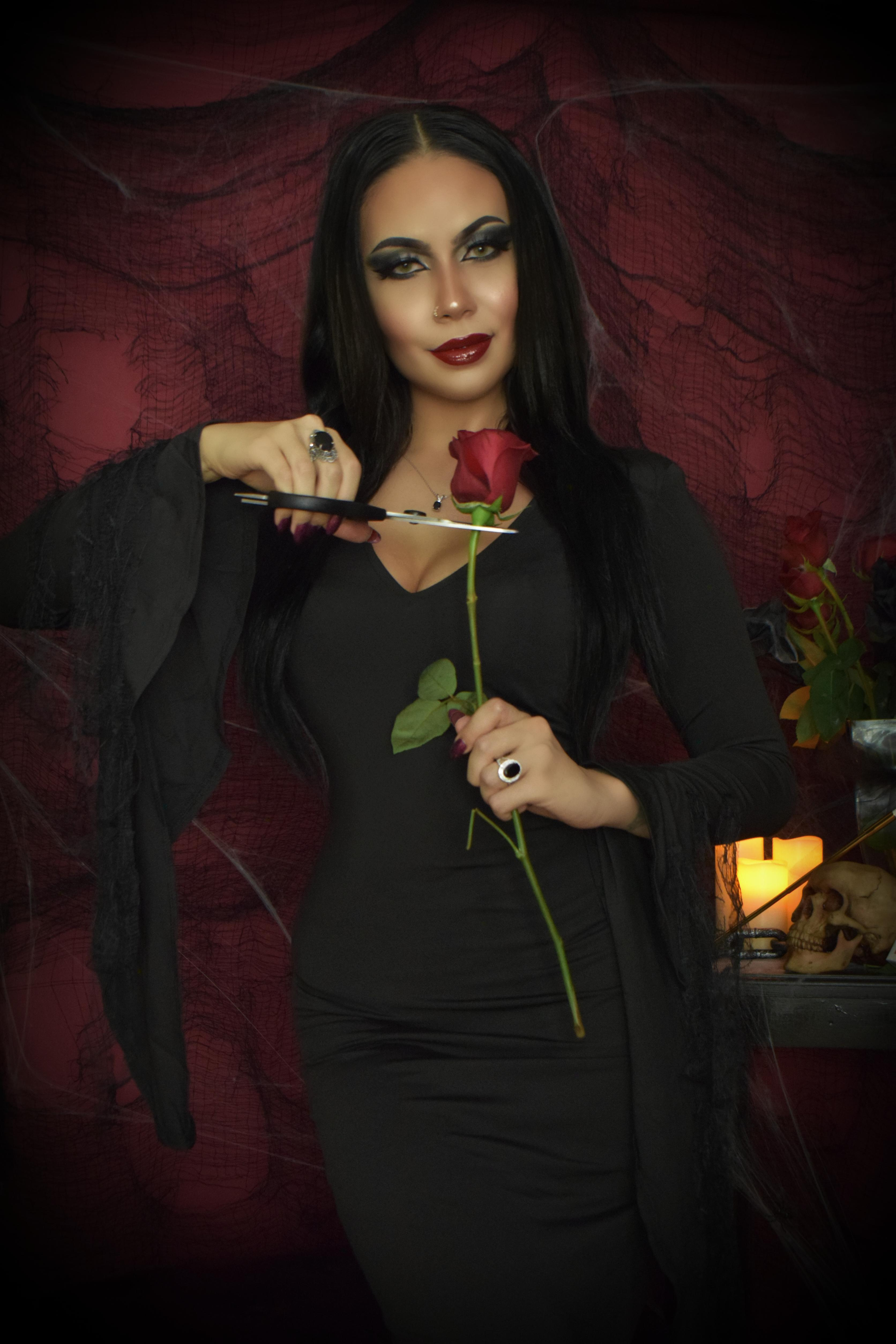 Morticia Addams Cosplay By Felicia Vox