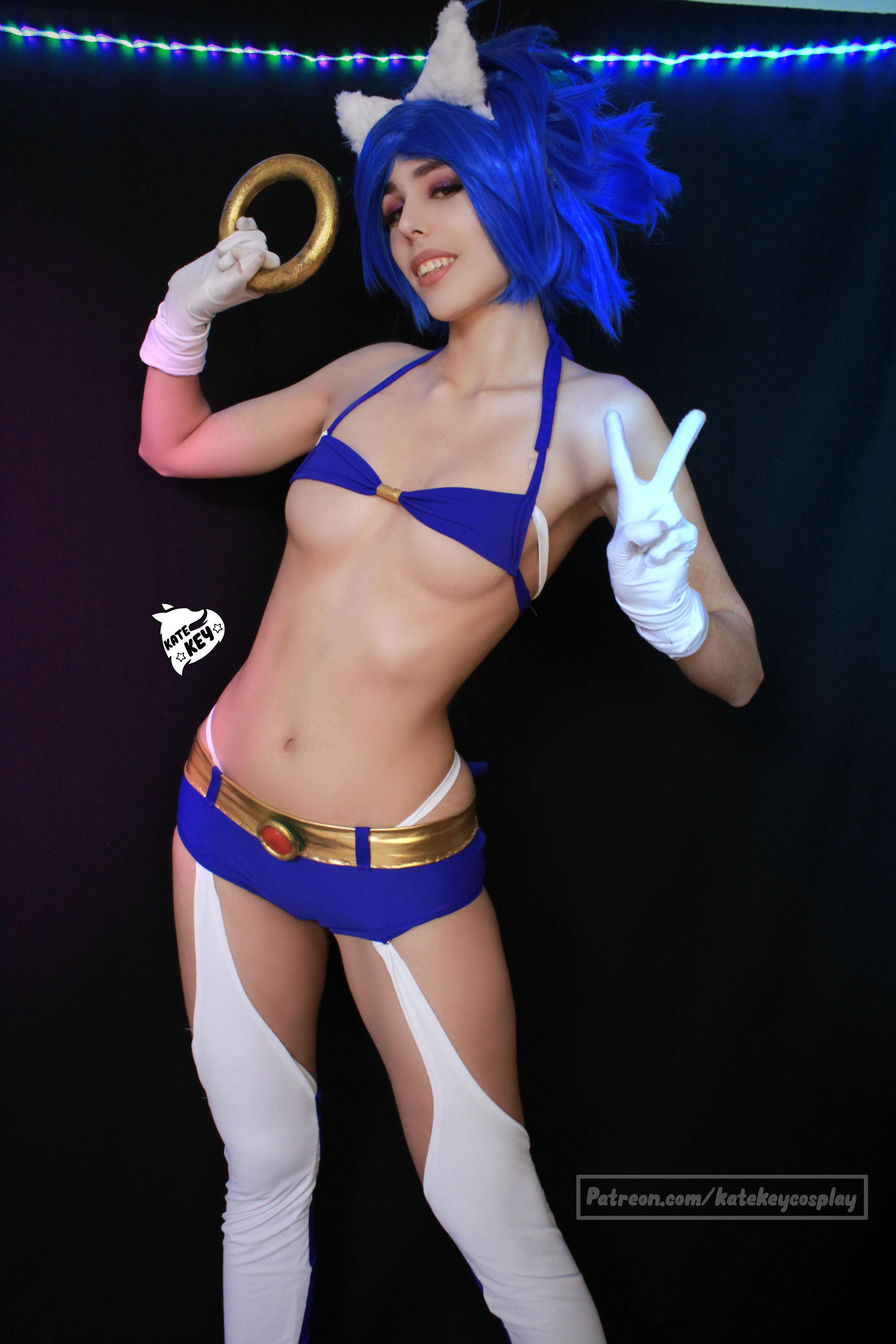 Sonic Erocosplay! – By Kate Key