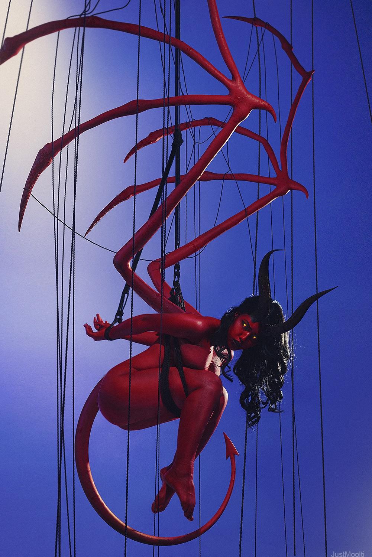 Demoness By LadaLyumos