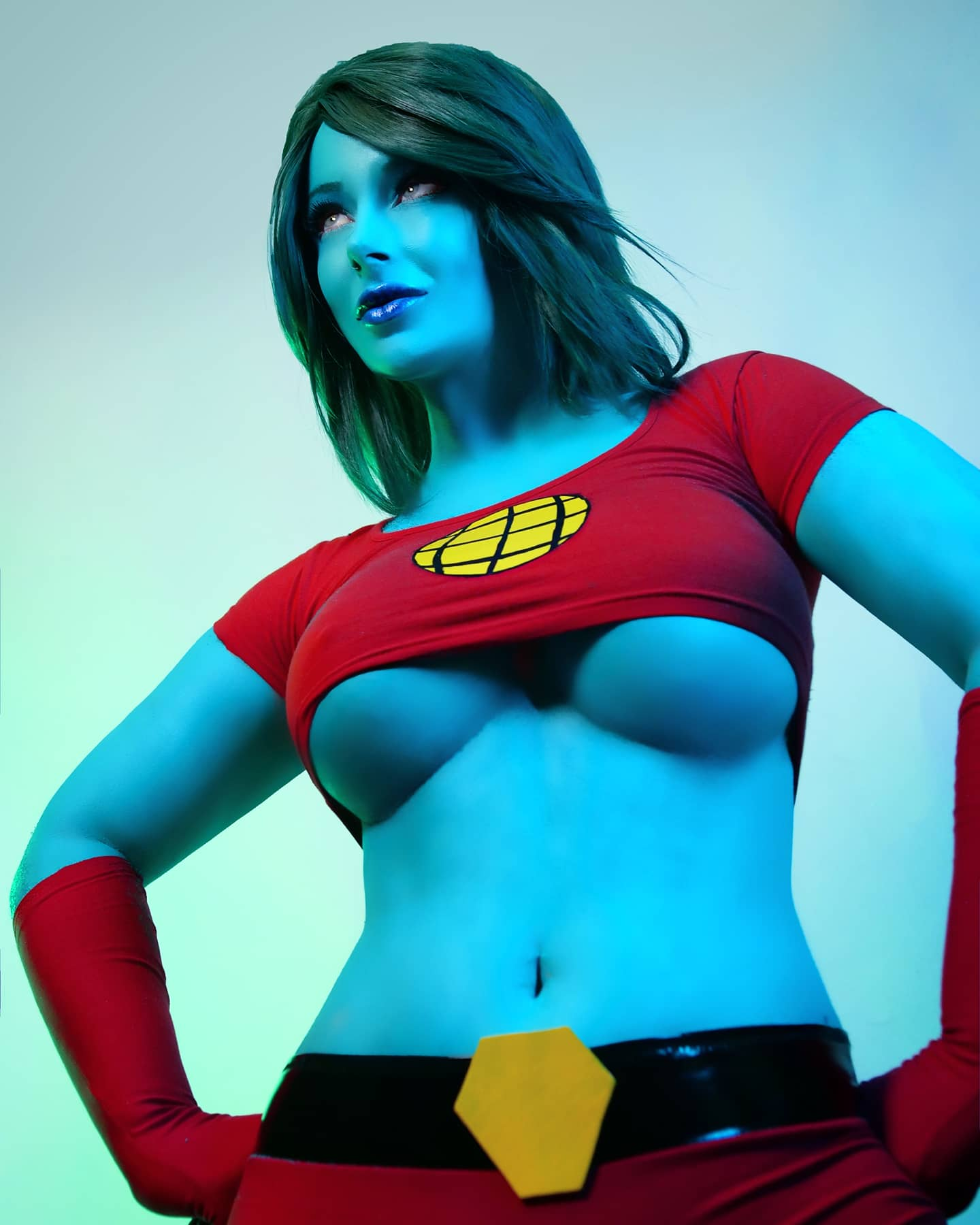 Captain Planet Genderbend By Jessica Luna