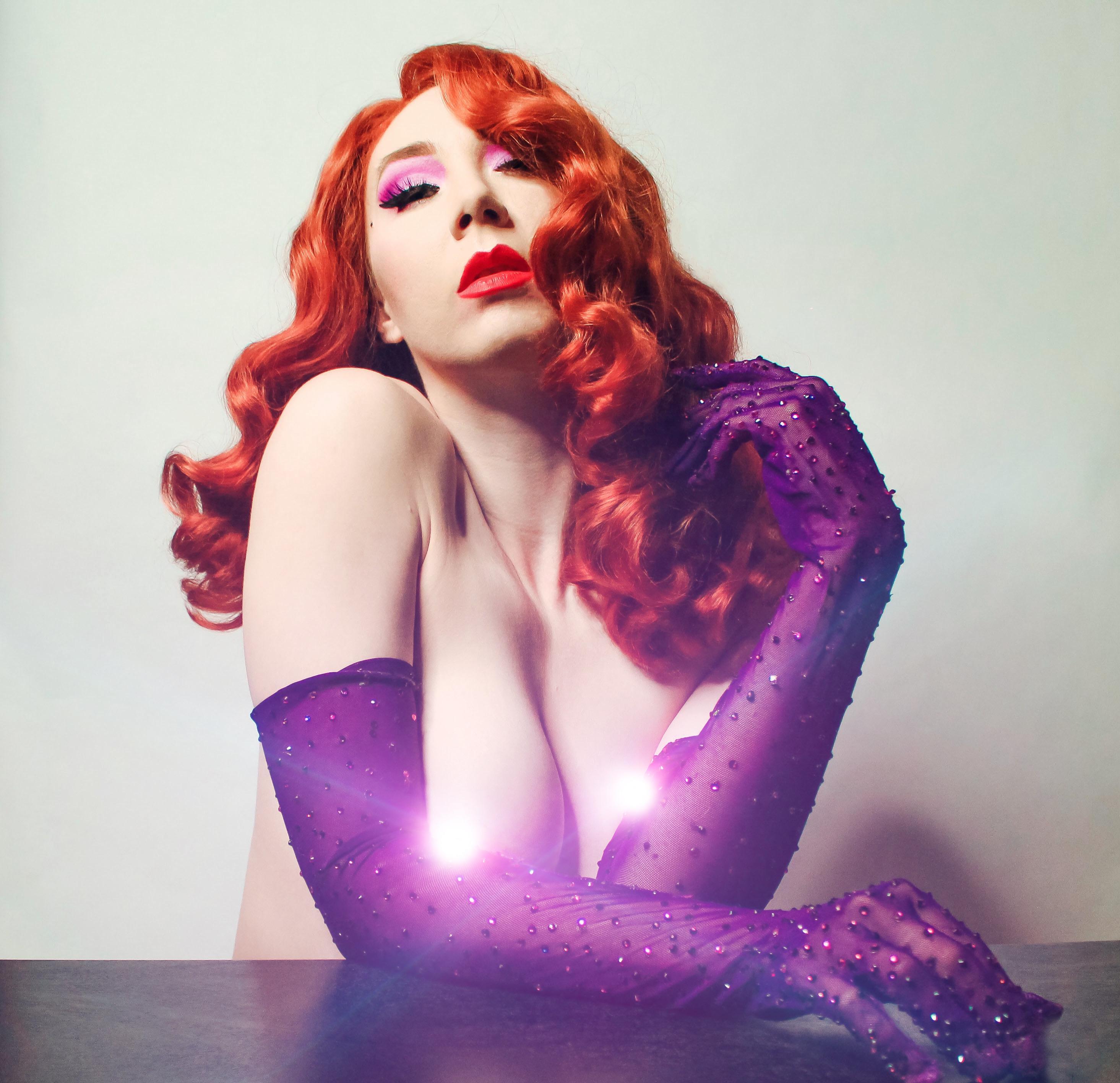 Jessica Rabbit Glamour – Juliette Electrique Https://linktr.ee/juliette_electrique_official