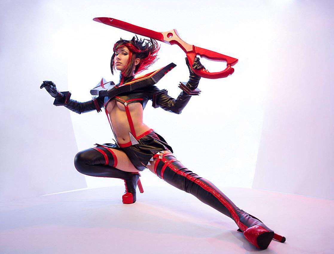 Ryuko Matoi Cosplay From Kill La Kill By Nine & Nora