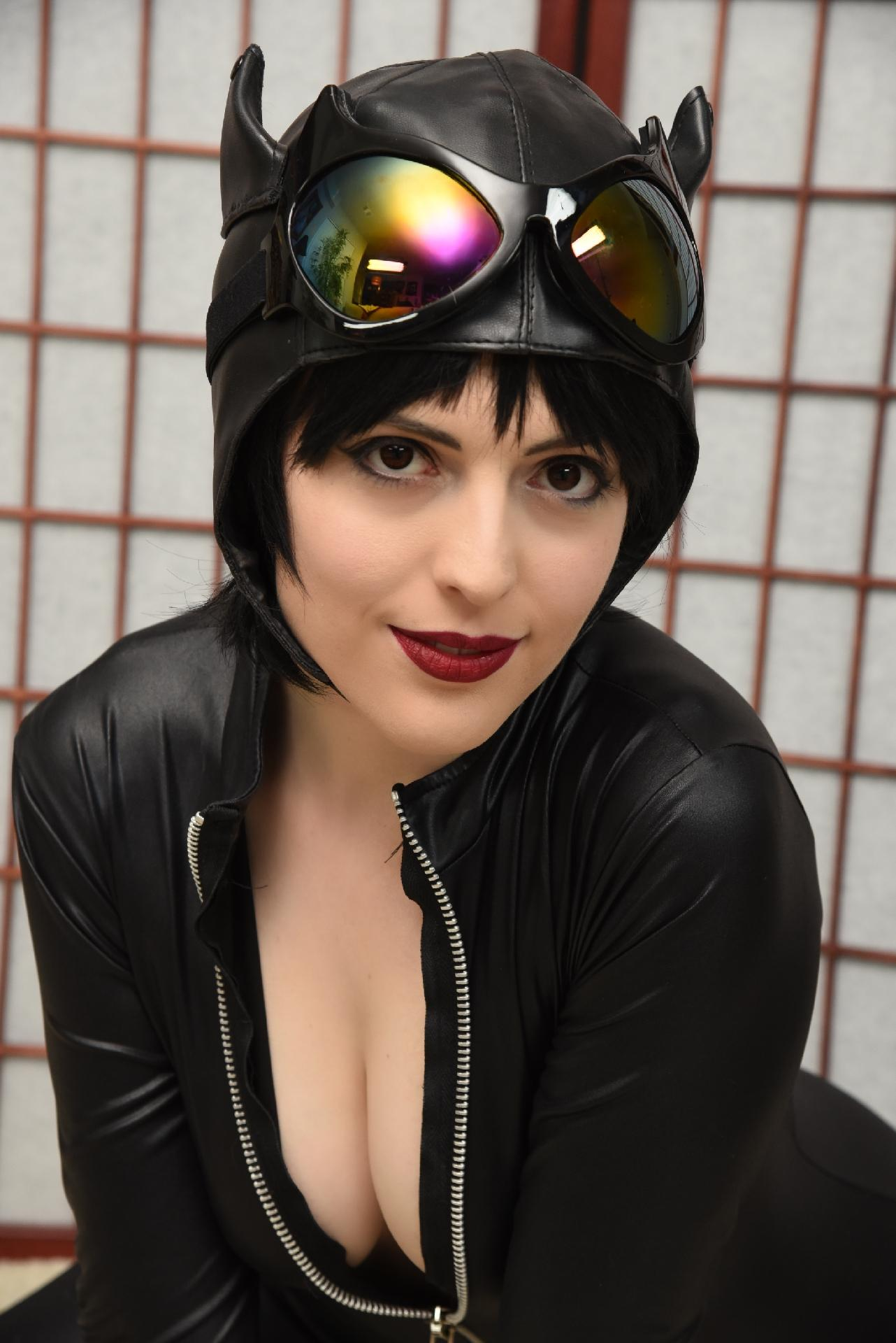 Emilia Song As Catwoman