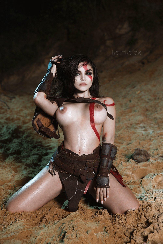 Female Kratos By Kalinka Fox