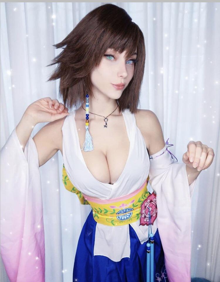 Final Fantasy Yuna By Soryu Geggy