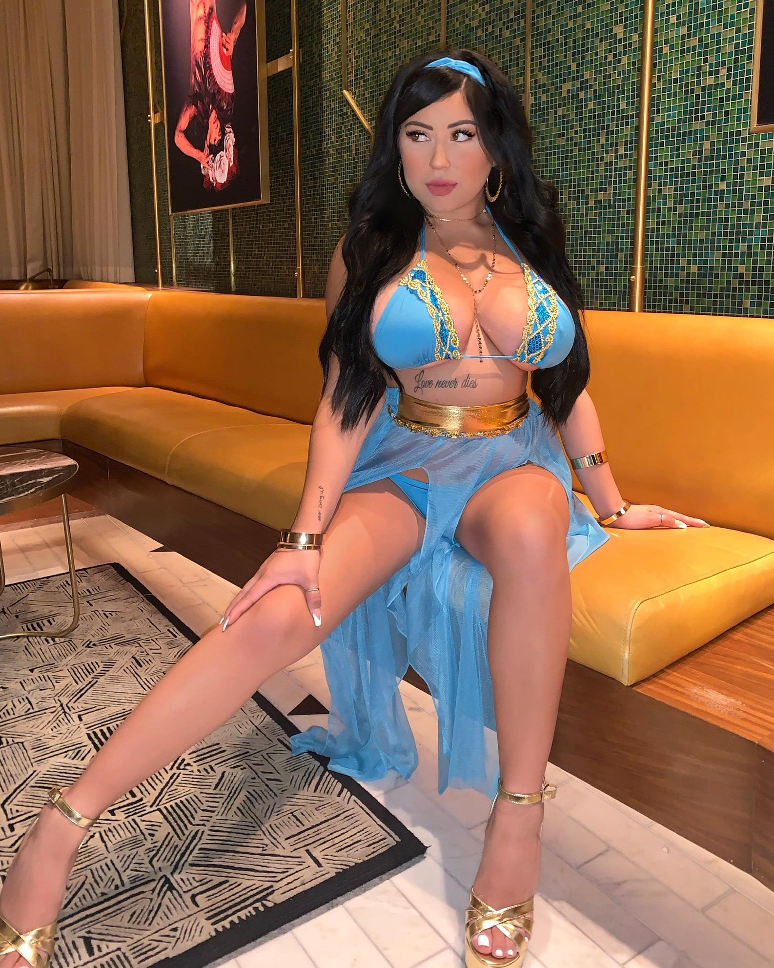 Lauren Jasmine As Princess Jasmine From Aladdin