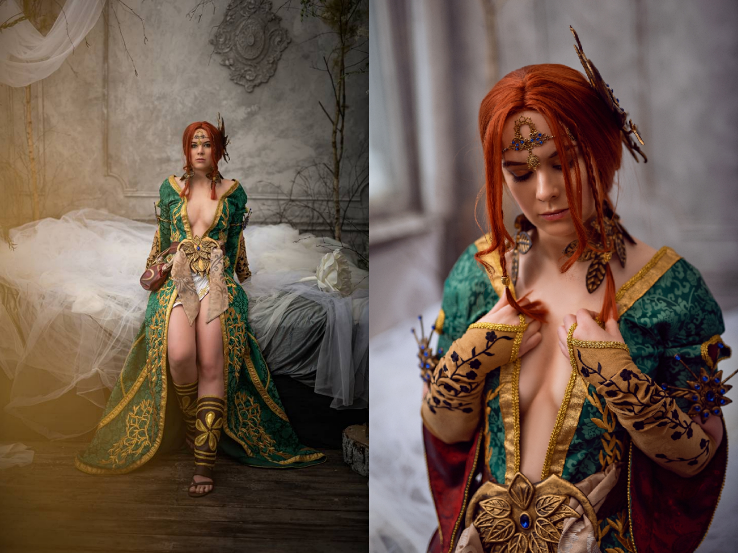More Triss Cosplay By DungeonQueen