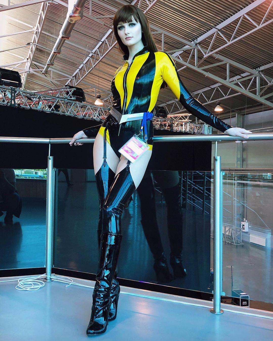Silk Spectre From Watchmen By Tniwe