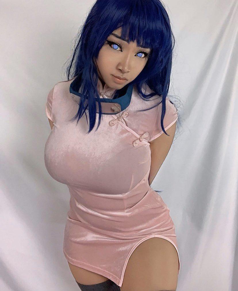 UniqueSora As Hinata, Naruto