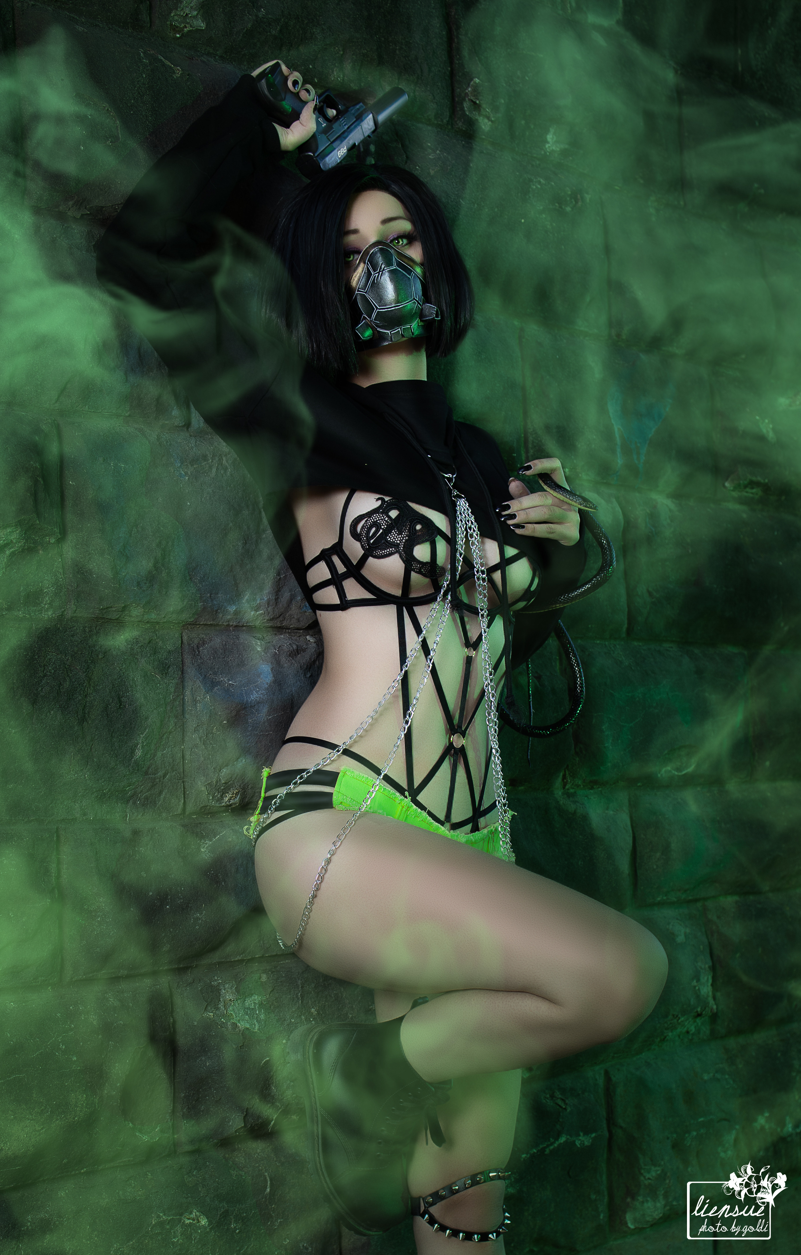 Viper From Valorant By LienSue