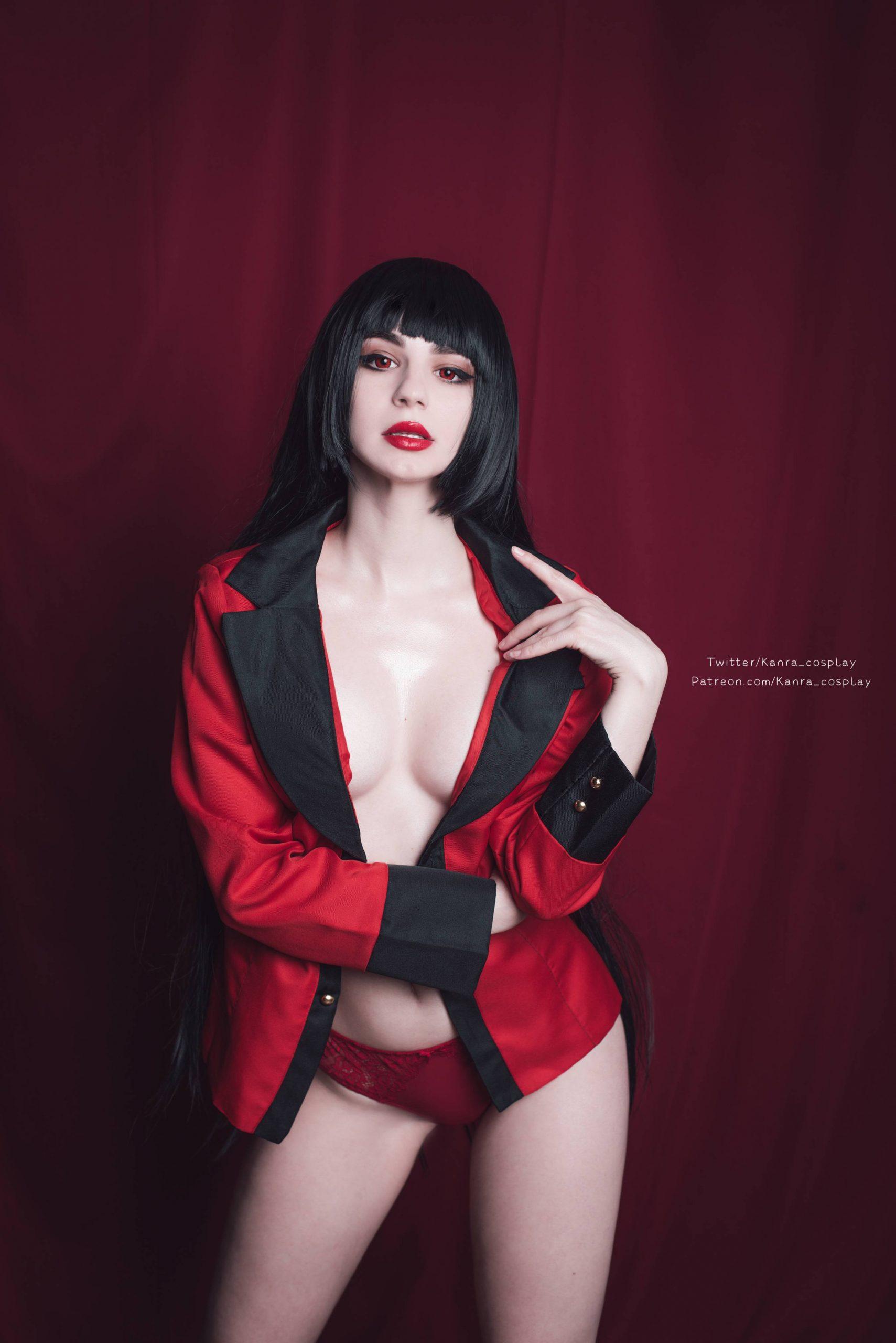 Yumeko Jabami By Kanra_cosplay