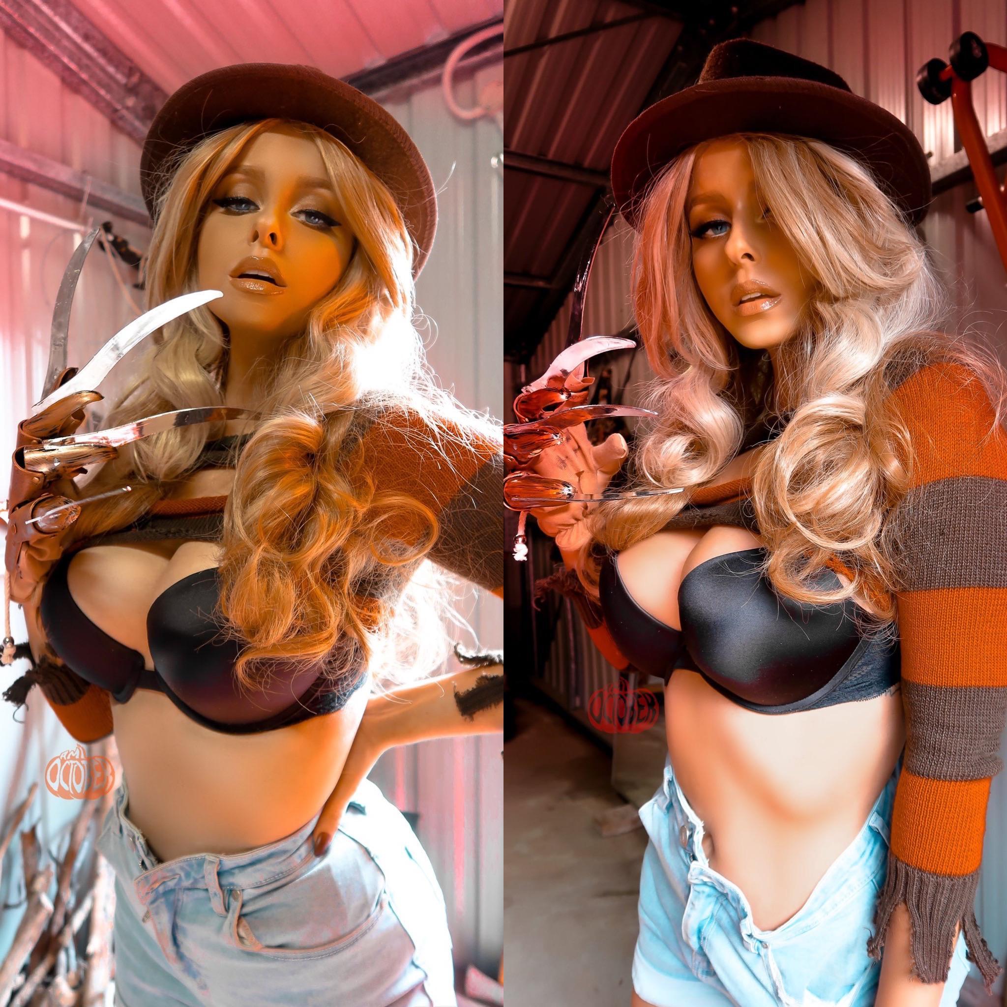 Freddy Kruger By Ami October