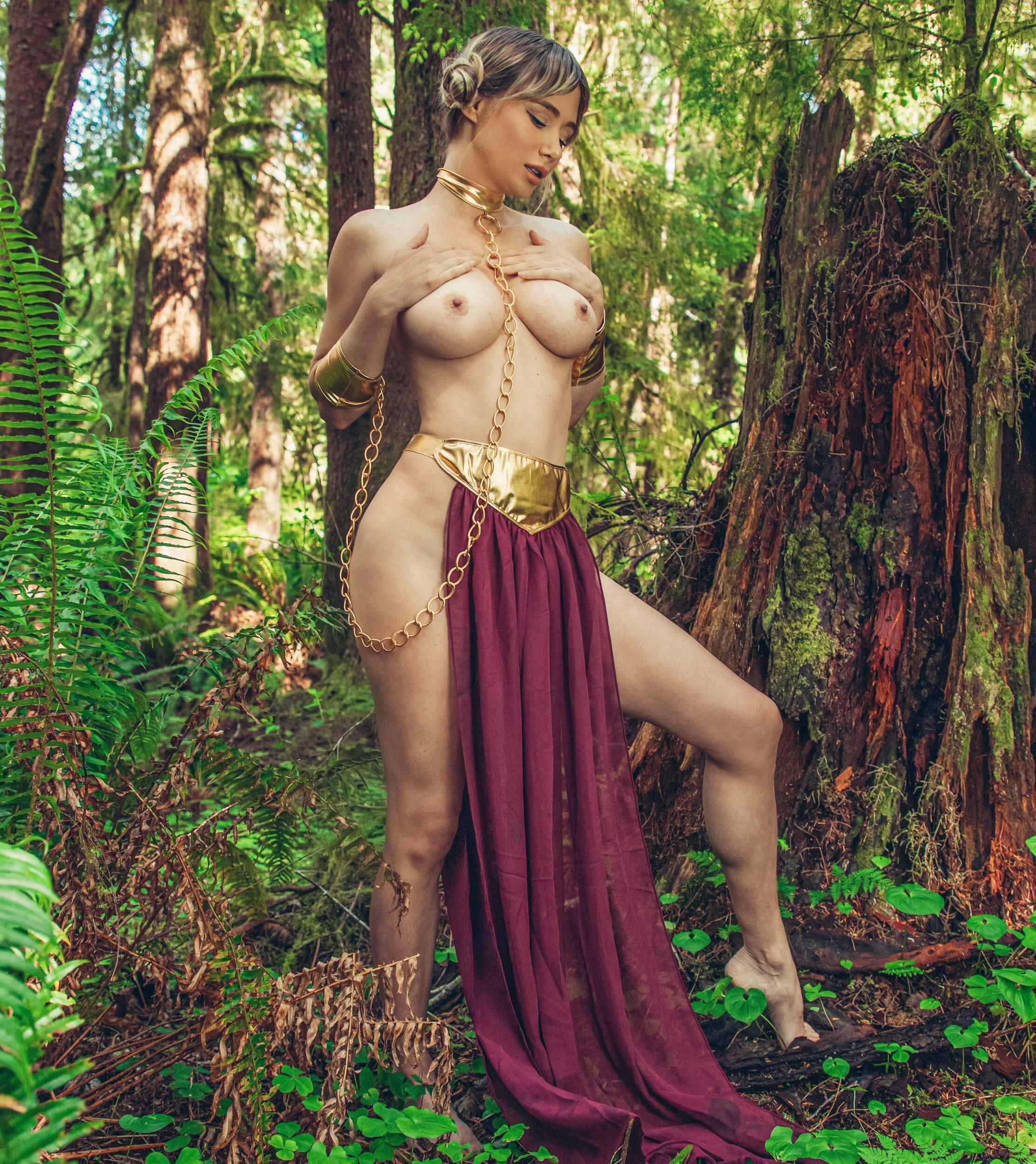 NSFW Slave Leia By Sara Underwood
