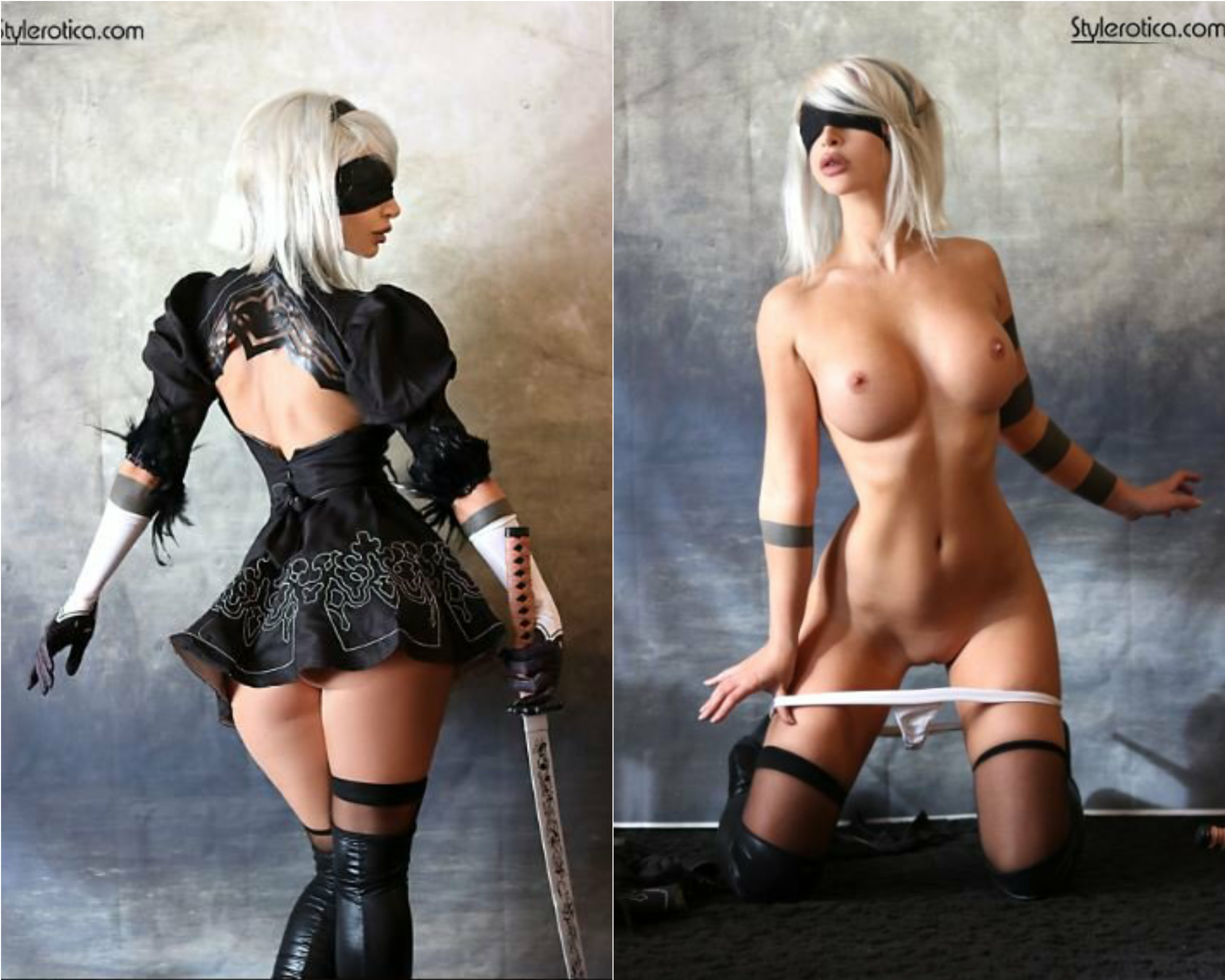 2B On/Off Cosplay By Kato