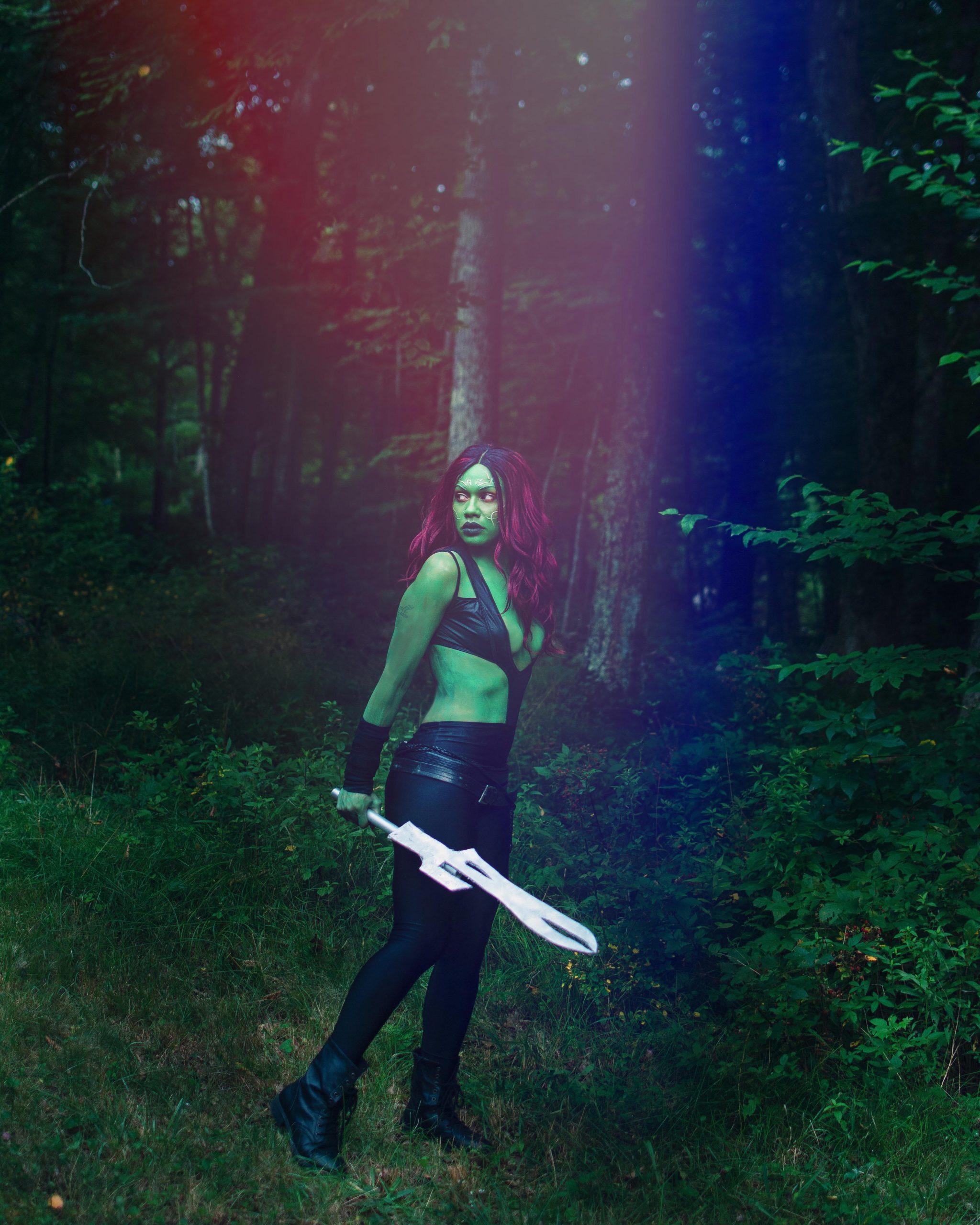 Gamora By Elicia Tate