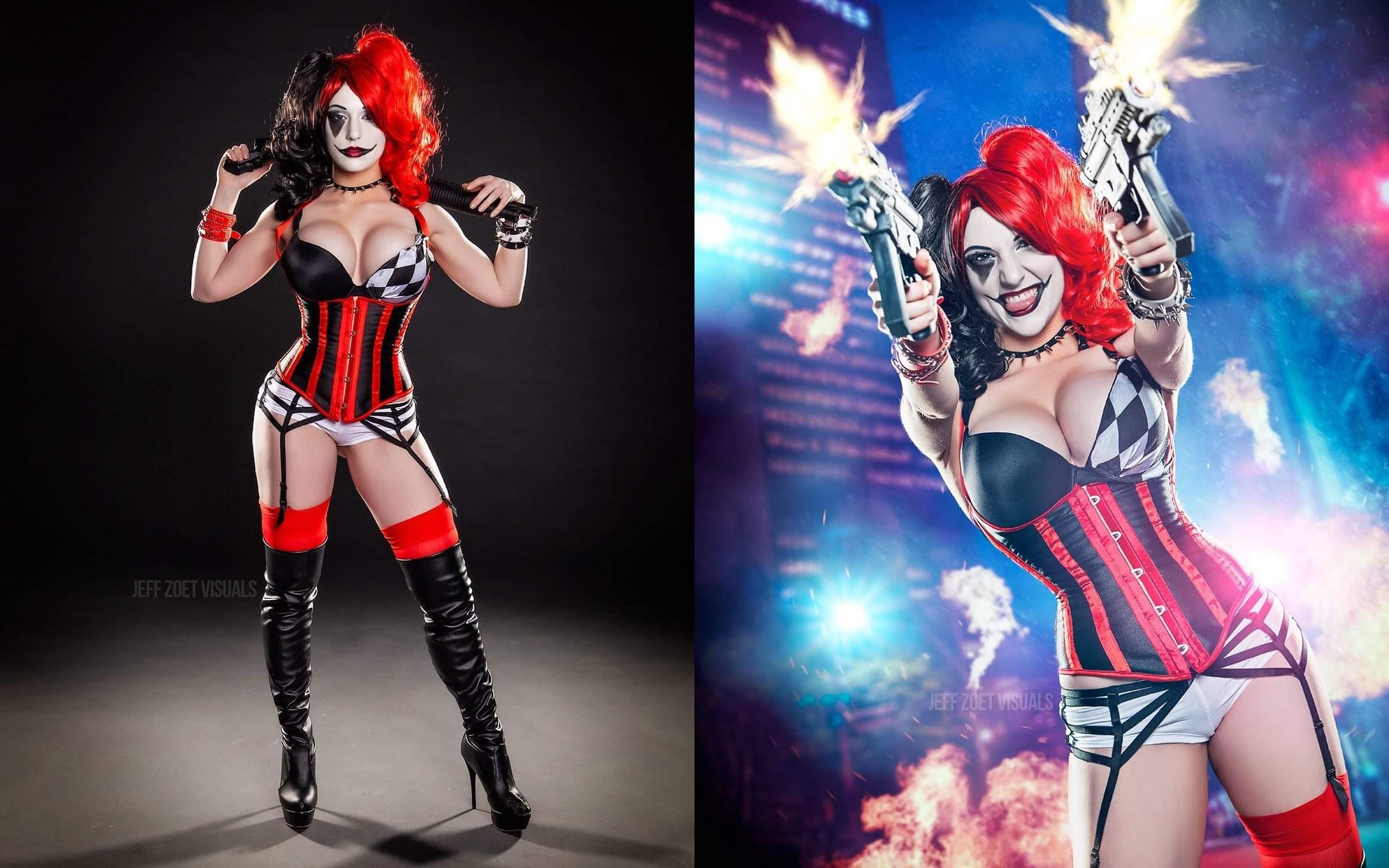 Harley Quinn By @Claireana