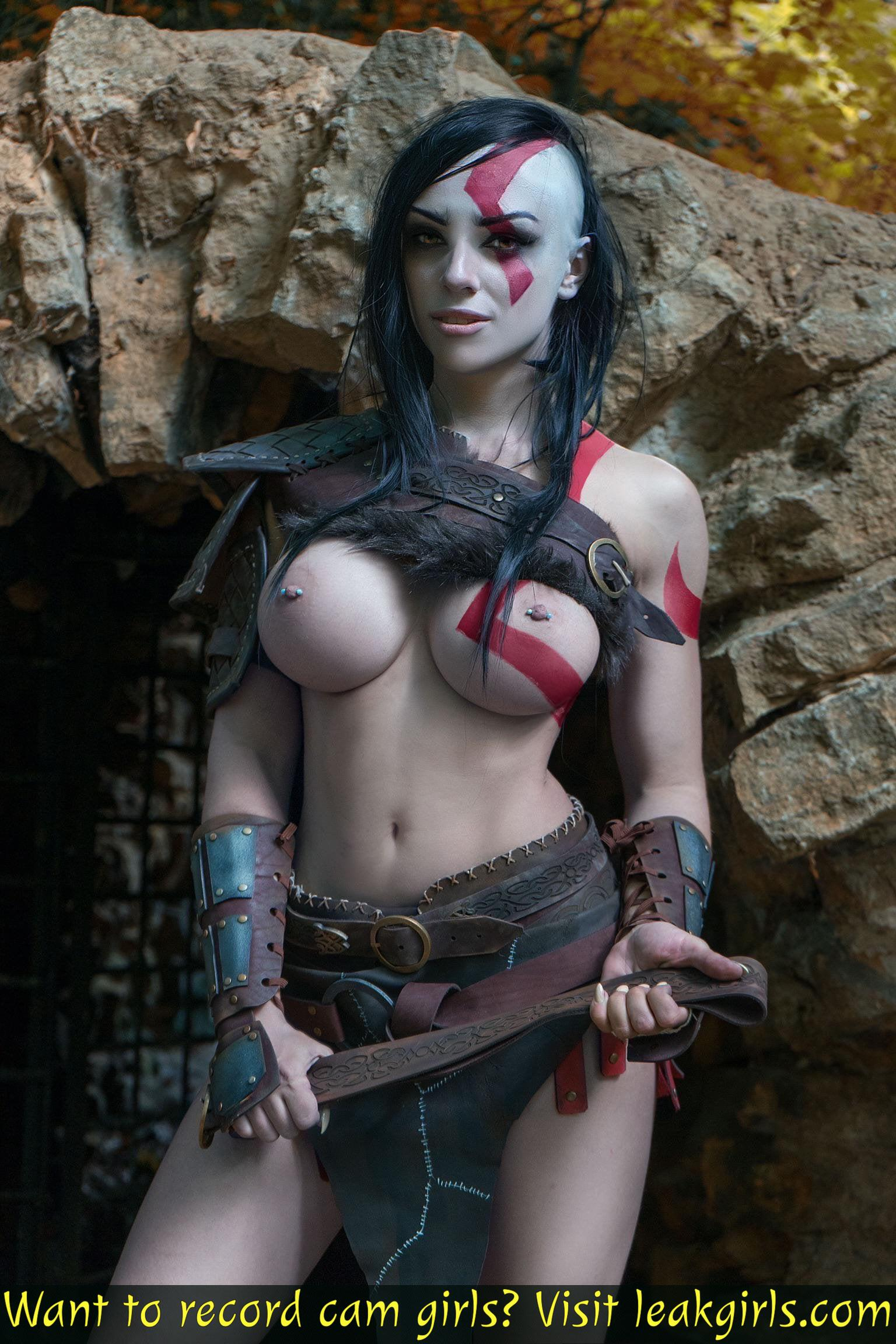 Gender-bend Kratos By Octokuro