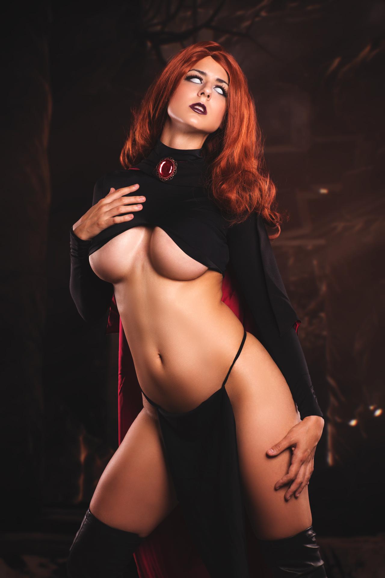 Goblin Queen Madelyne Pryor By Juby Headshot