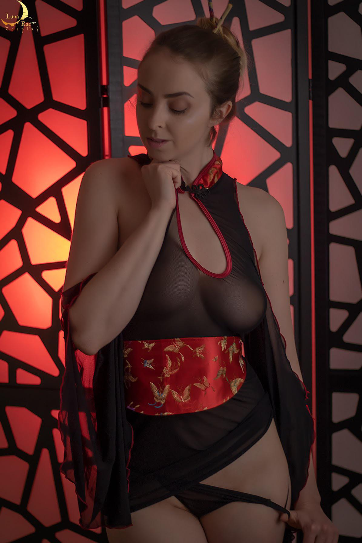 Sexy Mulan See Through By Lunaraecosplay