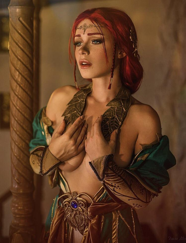 The Witcher S Triss Merigold By Irine Meier