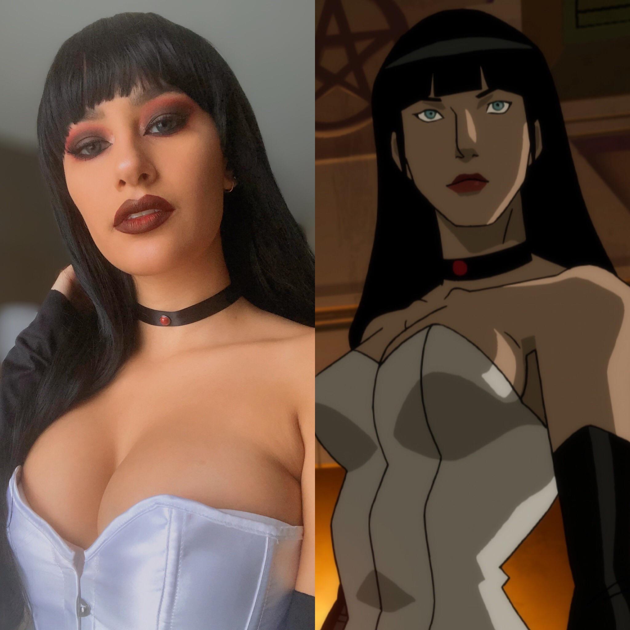 Zatanna From Justice League Dark By Mo.ns.e