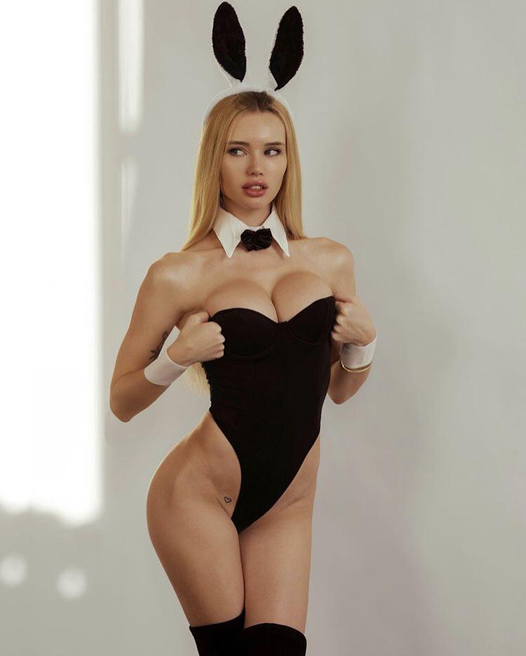 1960s Playboy Bunny By Olya Abramovich