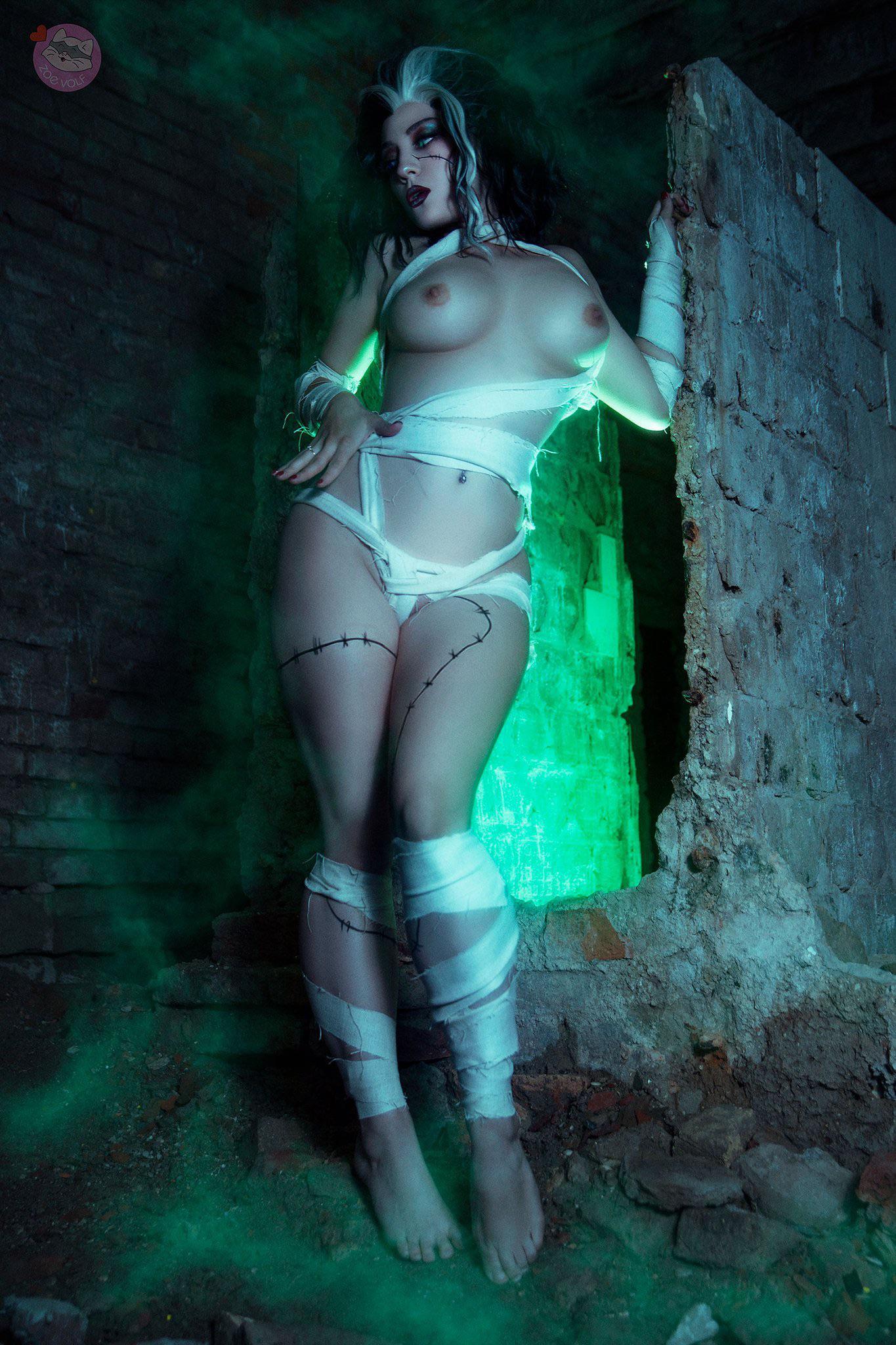 Bride Of Frankenstein By Zoe Volf