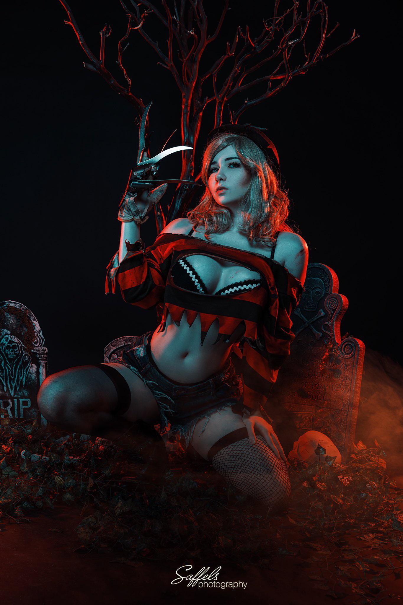 Freddy Krueger By Akemi Hogan