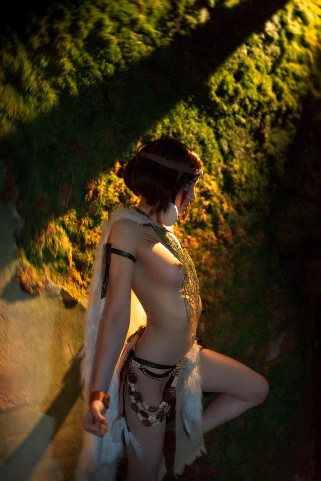 Princess Mononoke By Rocksy Light