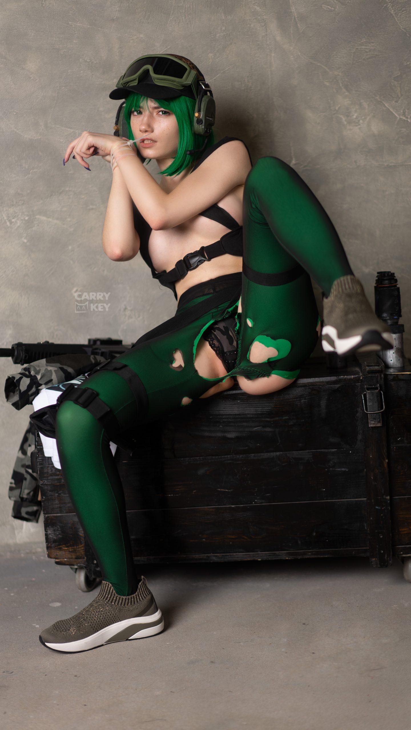 Ela Bosak Ero-cosplay By CarryKey