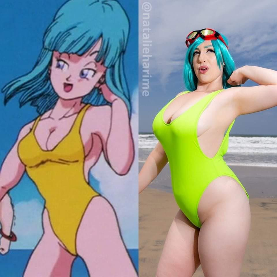 Maron From Dragon Ball By Natalie Harime