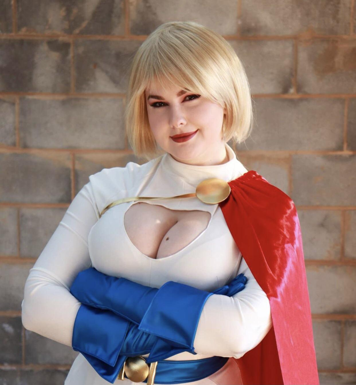 Power Girl By Kayla Jean Cosplay