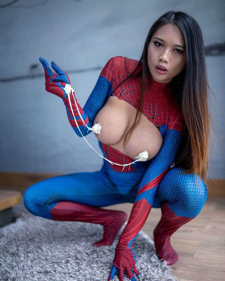 Spider-Man Suit By Linny Hill