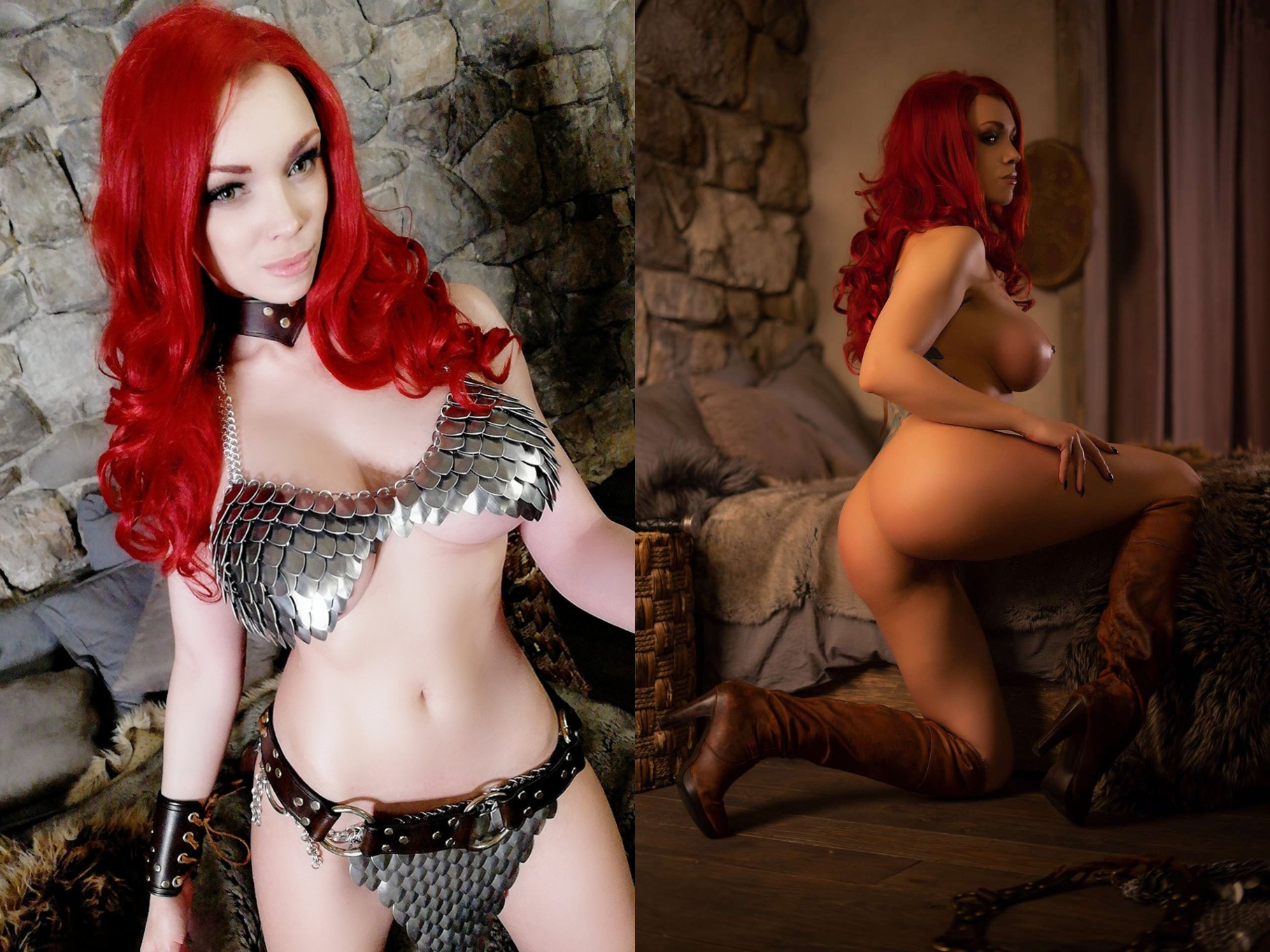 Red Sonja By Octokuro