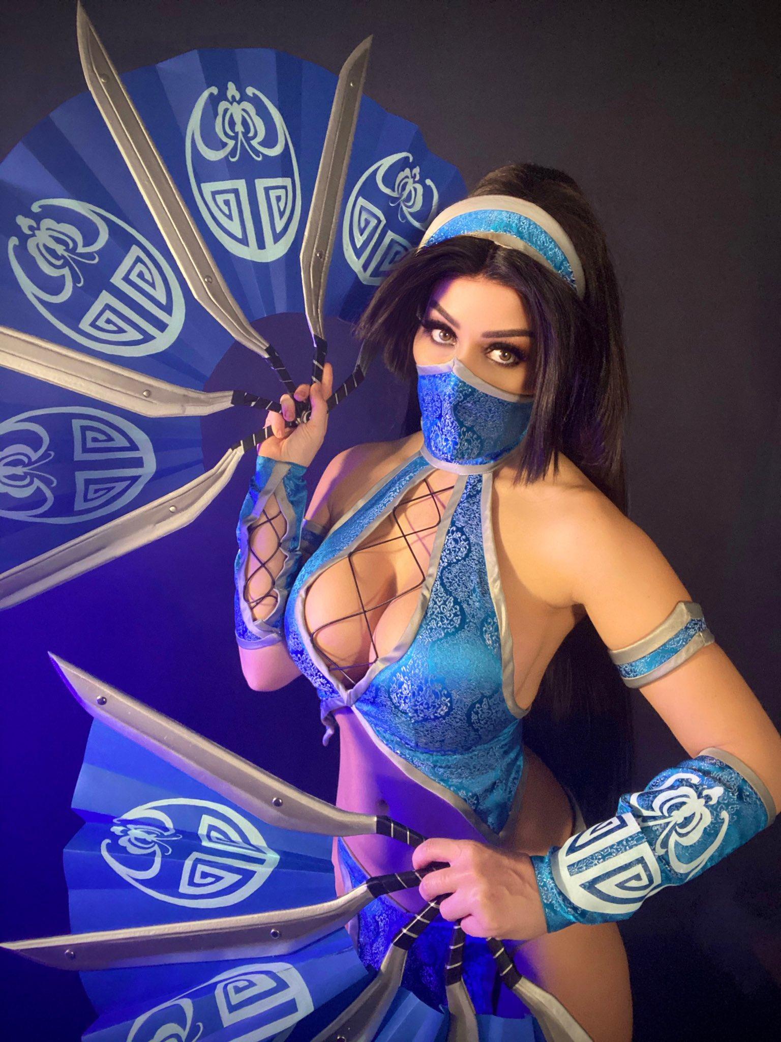 Kitana From Mortal Kombat By Tabitha Lyons