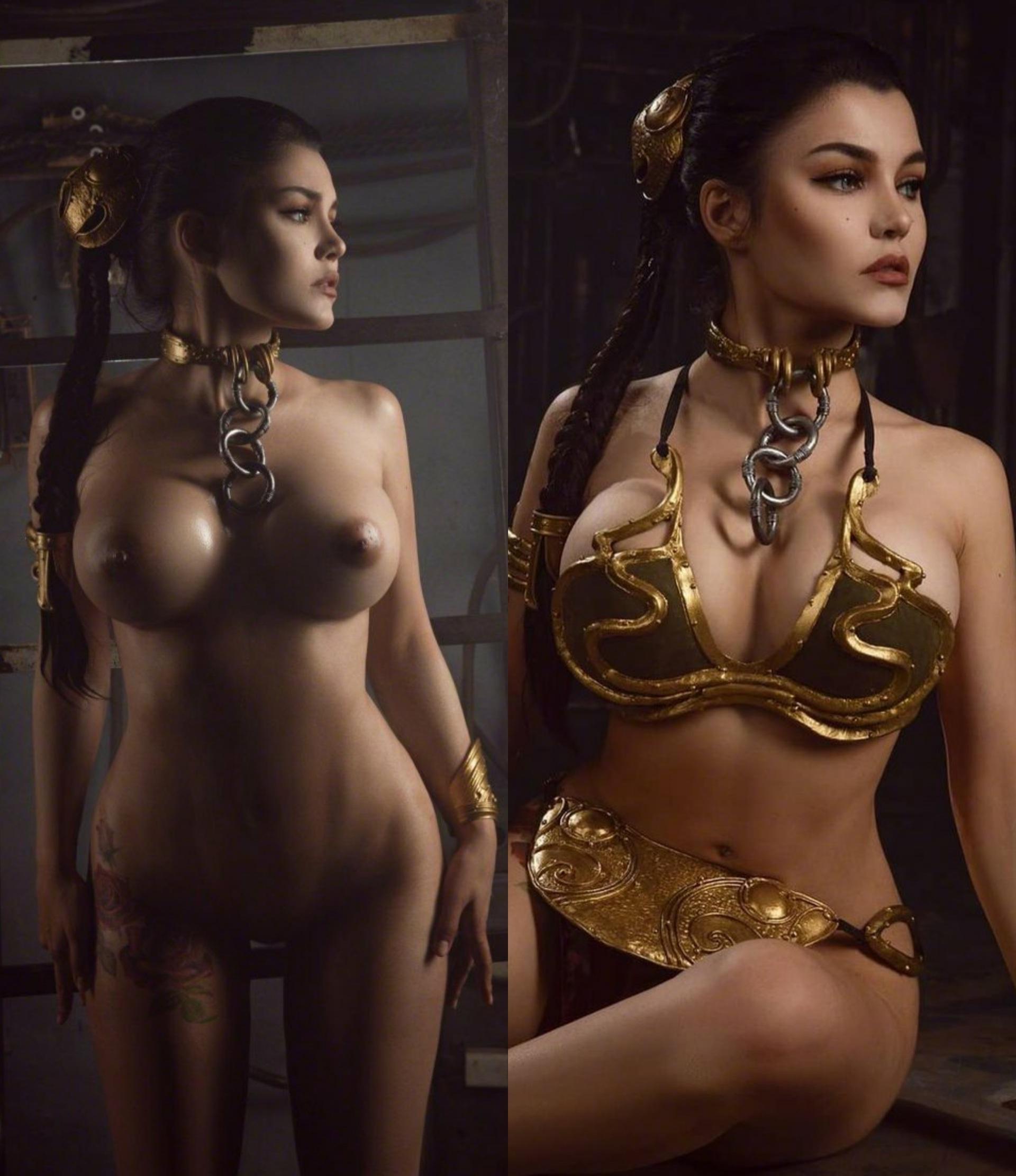 Slave Leia On/Off By Kalinka Fox