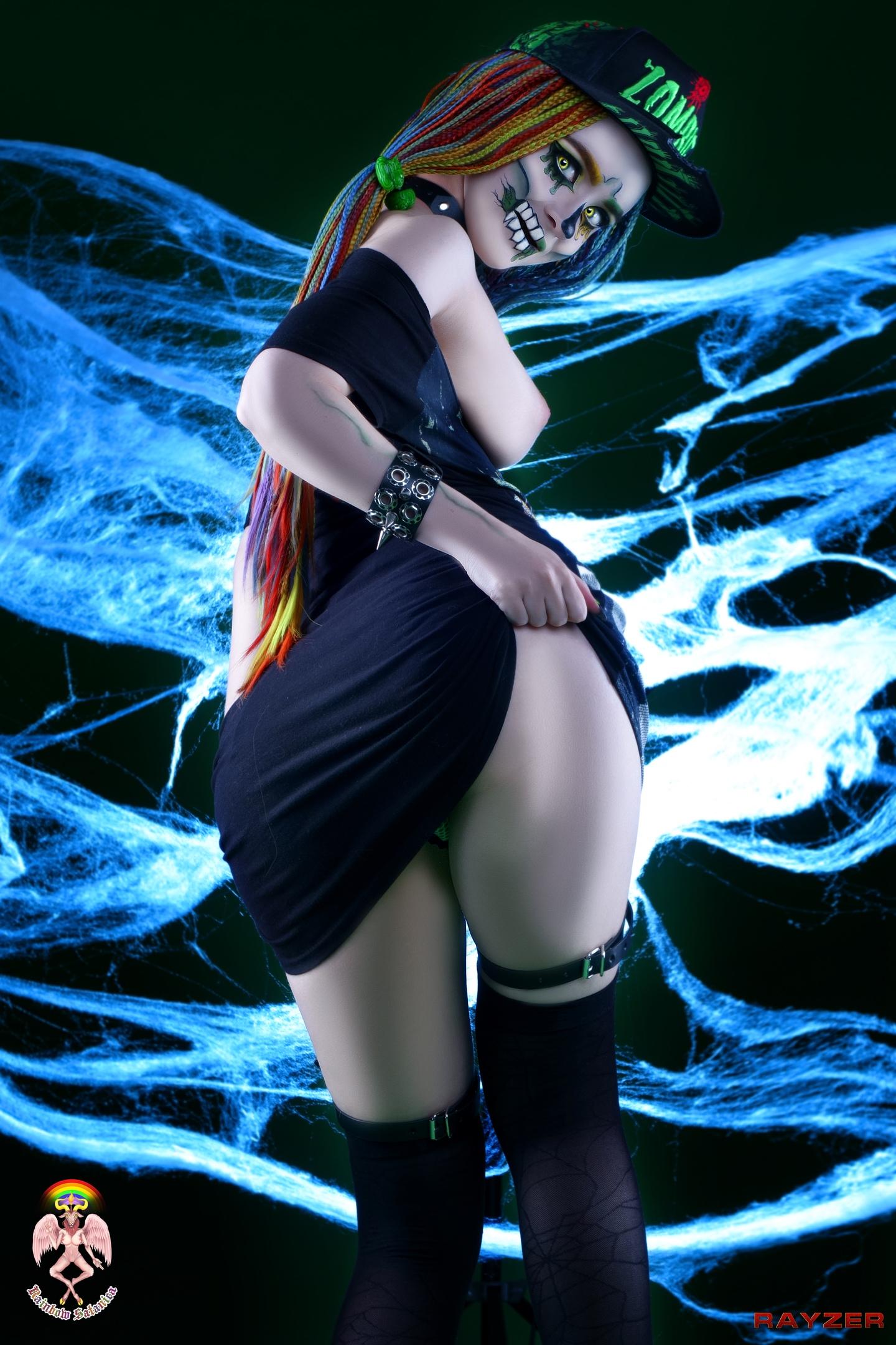Zombie Girl By Rainbow Satanica
