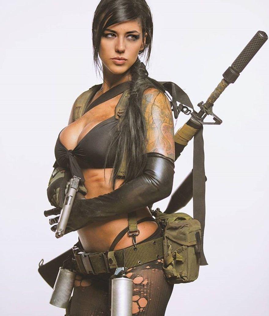 Alex Zedra Quiet From MGS5