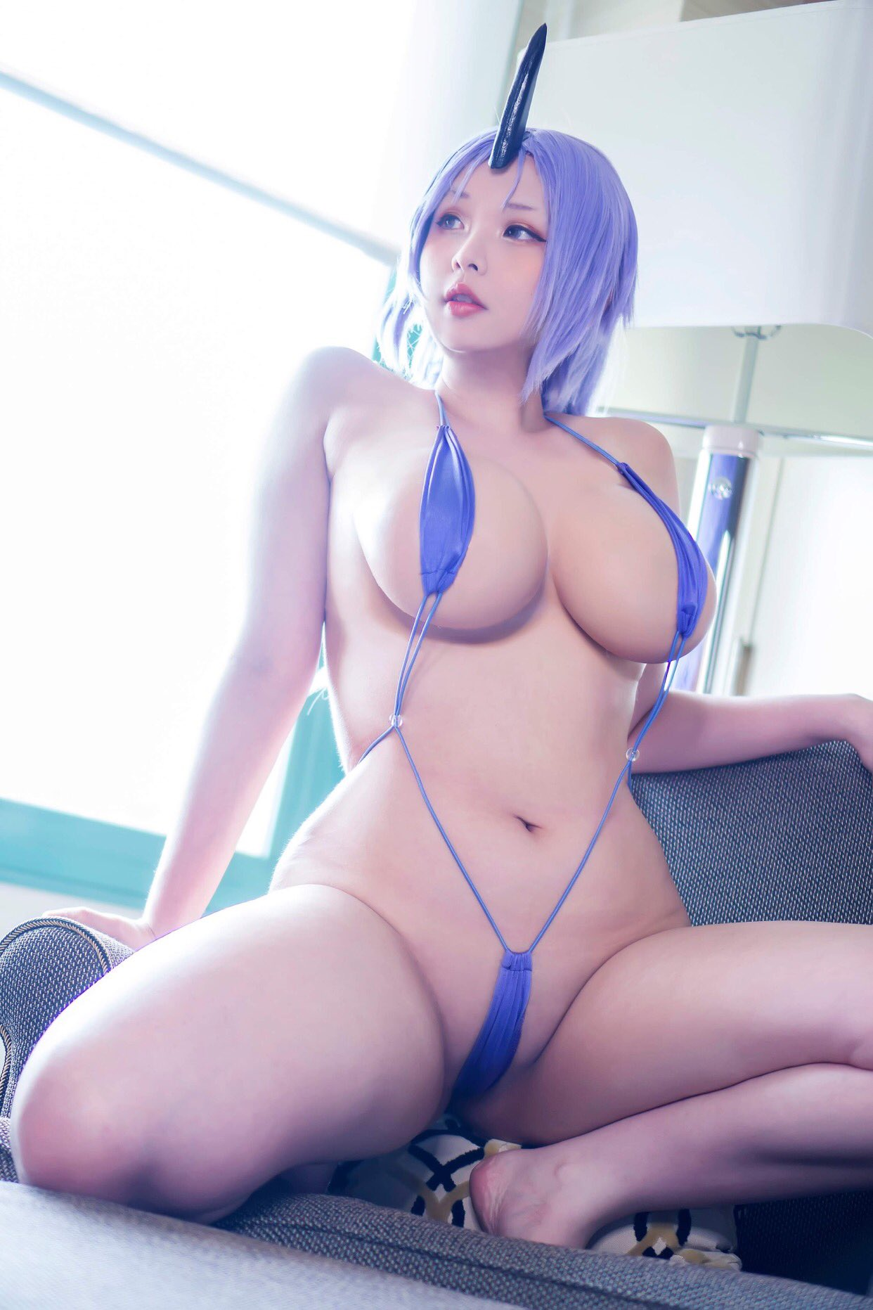 Hana Bunny As Shion From That Time I Reincarnated As A Slime