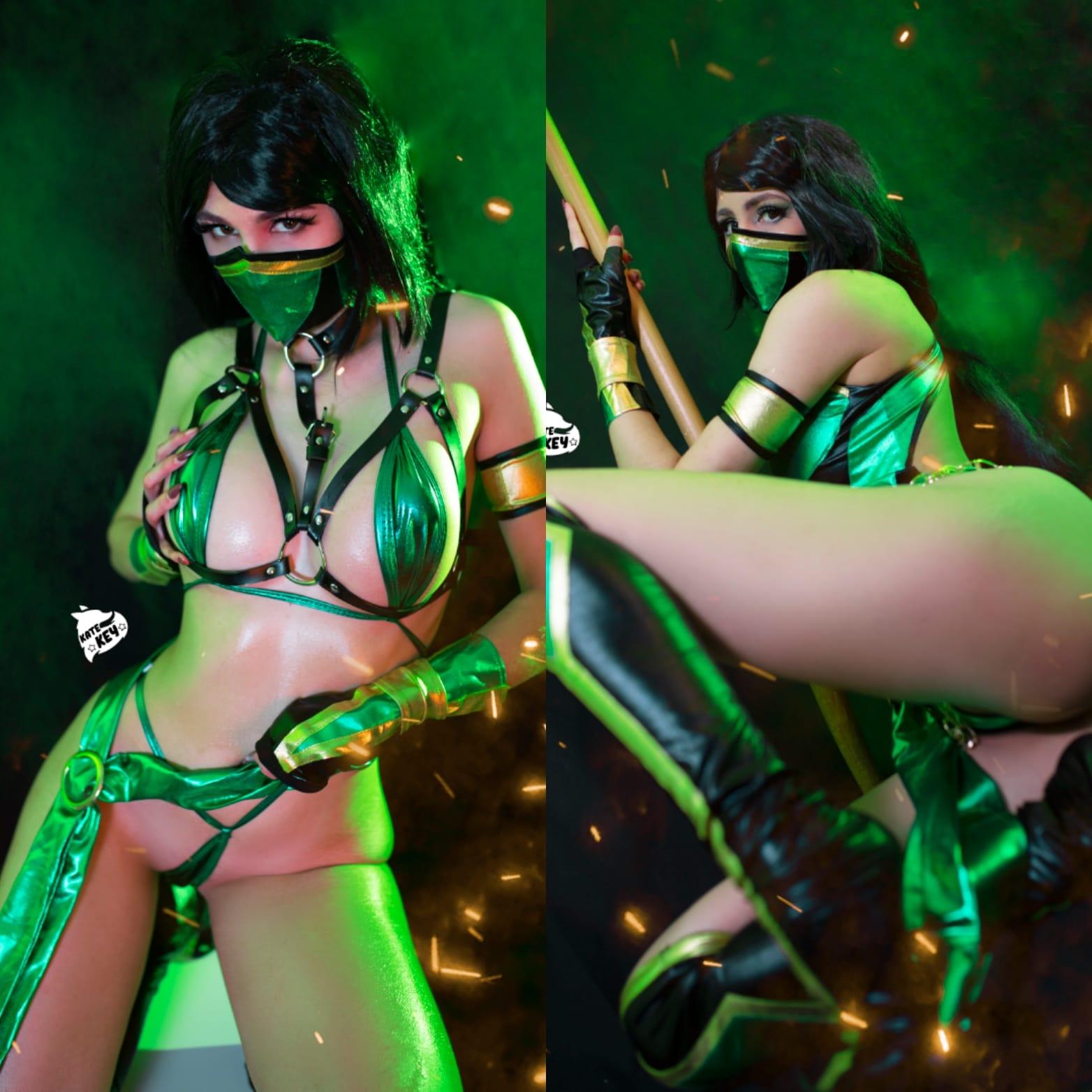 Jade From Mortal Kombat By Kate Key