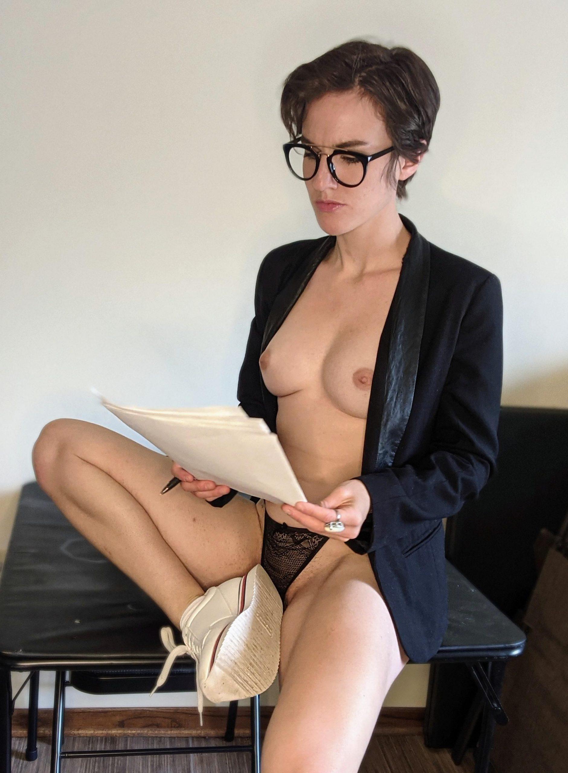 Rachel Maddow Portrayed By Handsy B