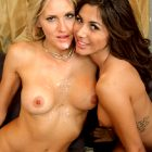 Audrey Show And Brittany Bliss Threesome Bang