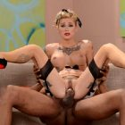 Kleio Valentien Tattooed Pinup Girl Get Blacked
