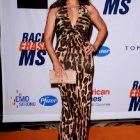 Tia Carrere Looking Lovely In A Leopard Print Dress