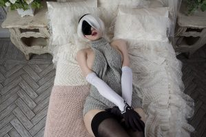 2B Cosplay From Nier Automate By Shadory