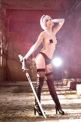 2B From Nier: Automata By Kerocchi Cosplay