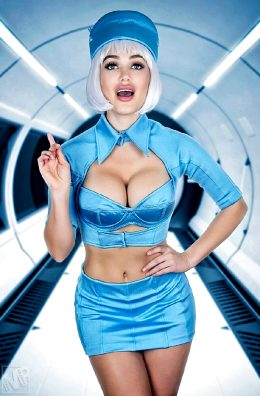 5th Element Stewardess By Cjsparxx